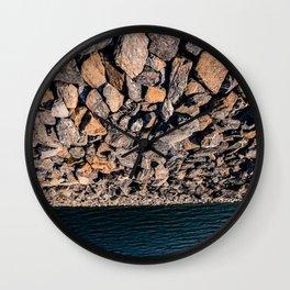 Abstract nature - stone Wall Clock