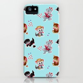 Zombie Cats iPhone Case