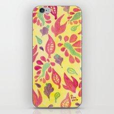 GrapeLeaves iPhone & iPod Skin