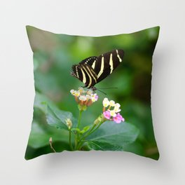 Cal. Academy Butterfly Throw Pillow