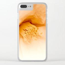 camellia II Clear iPhone Case