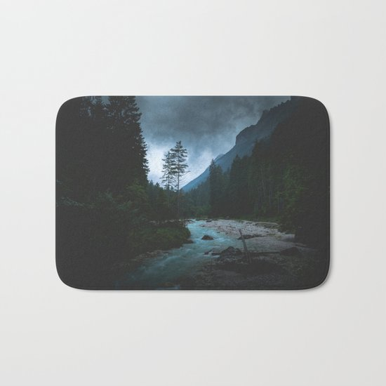 Landscape Mood #creek Bath Mat
