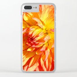 Radiant Beauty Clear iPhone Case
