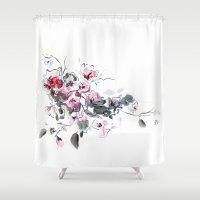 china Shower Curtains featuring China by tatiana-teni