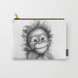 Monkey - Baby Orang outan 2016 G-121 Carry-All Pouch
