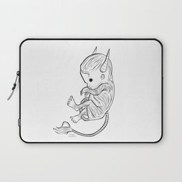 Little Devil (white version) Laptop Sleeve