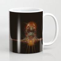 squid Mugs featuring SQuid  by Def Warsawvoice