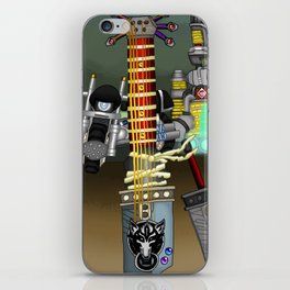 Fusion Keyblade Guitar #116 - Fenrir & Buster Sword iPhone Skin