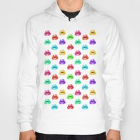 lip Hoodies featuring Lip Print by Vicky Ink.
