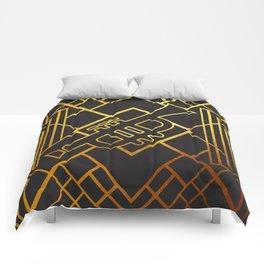 Art Deco Trumpet Comforters