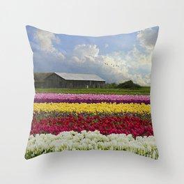 Hope Is - Flower Art Throw Pillow
