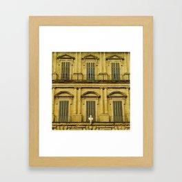 Palazzo Uguccioni Framed Art Print