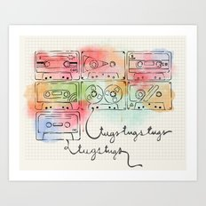 tugstugs mixtapes Art Print