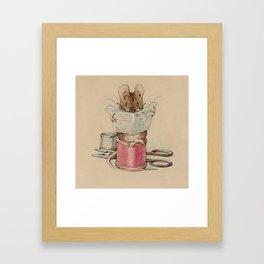 Beatrix Potter Tailor Mouse Framed Art Print