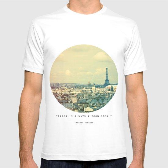 Pale Paris T-shirt