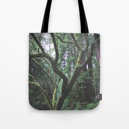 Mossy Womb Tote Bag