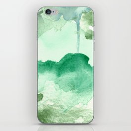 Meadow Pool Abstract iPhone Skin