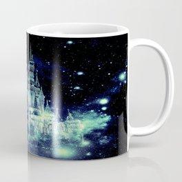 Celestial Palace Teal Turquoise Blue Coffee Mug