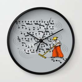 Japanese Zen Garden Song Wall Clock