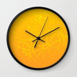 Juicy Orange V6S2 Wall Clock