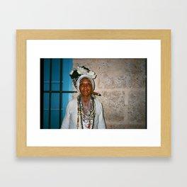 Zanja Framed Art Print