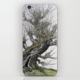 Fantasy Womping Willow Tree iPhone Skin