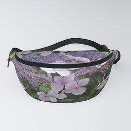 Hydrangea Violet Hues Fanny Pack