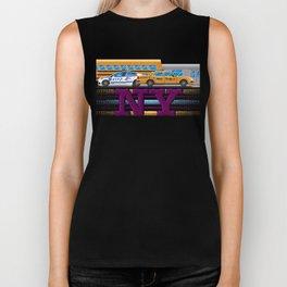 NY Pixel Biker Tank