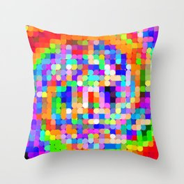 Re-Created Cypher 2.0 by Robert S. Lee Throw Pillow