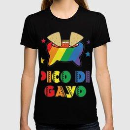 Gay Pride Gift Pico De Gayo Pico De Gallo Rainbow LGBT T-shirt