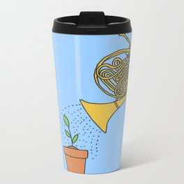 Watering Horn Metal Travel Mug