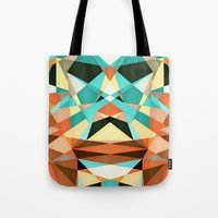 infamous Tote Bags featuring Bubico by Anai Greog