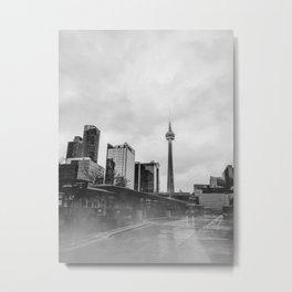 Moody Toronto Metal Print