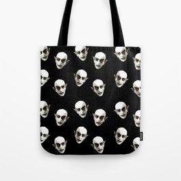 Dracula pattern Tote Bag