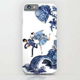 The Lovers Flee iPhone Case