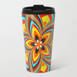 Spiral Rose Pattern C 2/4 Travel Mug