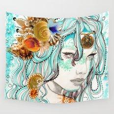Mermaid Hair Wall Tapestry