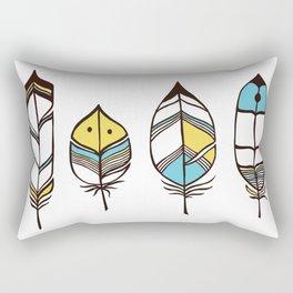 Colored Faythurs Rectangular Pillow