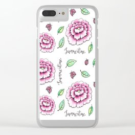 Summertime! Clear iPhone Case