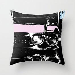 Cadillac Dreams Throw Pillow