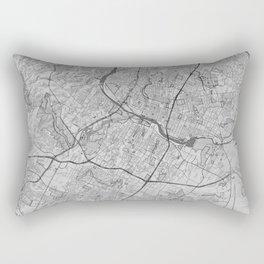 Austin Pencil City Map Rectangular Pillow