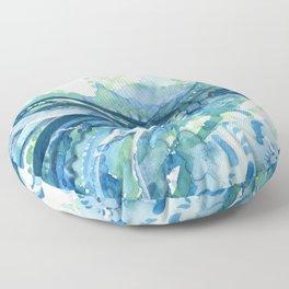 Droplets Floor Pillow