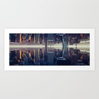 inception Art Prints featuring Inception by Thomas Richter