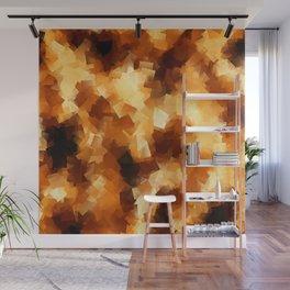 Cubist Fire Wall Mural