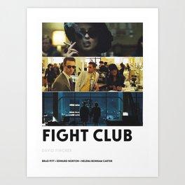 Fighter Club Art Print