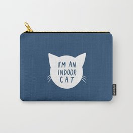 Indoor Cat (silhouette) Carry-All Pouch