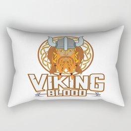 Viking Nordic Norse Myth Valhalla Warrior Gift Rectangular Pillow