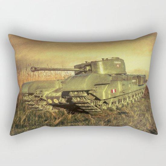 Churchill Tank  Rectangular Pillow