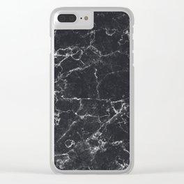 Dark Granite Clear iPhone Case