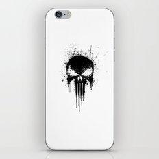 Black Skull iPhone & iPod Skin